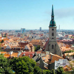 Bratislava, Slovakia. Author Jonik. Licensed under the Creative Commons Attribution-Share Alike