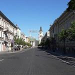 Gedimino prospektas, Vilnius, Lithuania. Author Wojsyl. Licensed under the Creative Commons Attribution-Share Alike