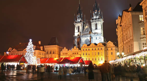 Prague Christmas Markets, Czech Republic. Author Karelj. No Copyright