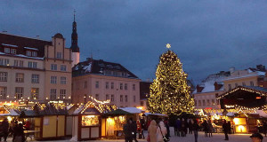 Tallinn Christmas Market, Estonia. Author Marit & Toomas Hinnosaar. Licensed under the Creative Commons Attribution