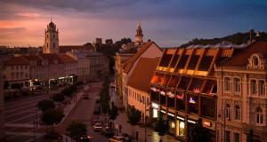 Vilnius, Lithuania. Author Halfwit Sock. No Copyright