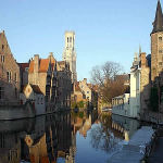 Bruges, Belgium. Author Elke Wetzig. Licensed under the Creative Commons Attribution-Share Alike