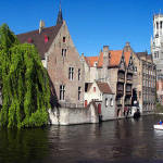 Bruges, Belgium. Author Jean-Christophe BENOIST. Licensed under the Creative Commons Attribution-Share Alike