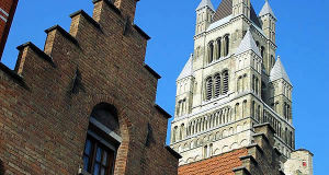 Sint-Salvatorskathedraal, Bruges, Belgium. Author Tony Grist. No Copyright