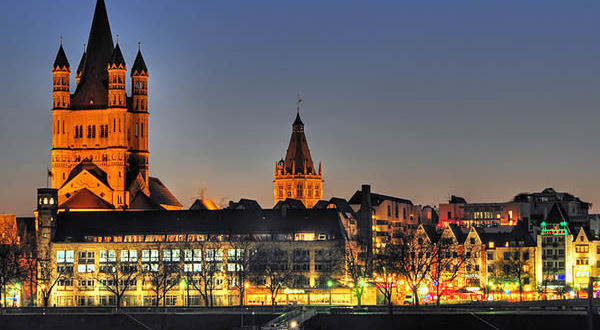 Cologne, Germany. Author Aspooner. Licensed under the Creative Commons Attribution