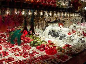 Strasbourg Christmas Markets (Marché de noël de Strasbourg), Alsace, France. Author ChristinaT.. Licensed under Creative Commons Attribution