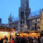 Munich Christmas Markets, Germany. Author Bbb. Licensed under the Creative Commons Attribution-Share Alike
