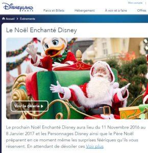 Noël à Disney Village - Disneyland Paris 2016