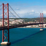 Ponte 25 de Abril, Lisbon, Portugal. Author Matt Perich. Licensed under the Creative Commons Attribution
