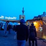 Christmas Market in Barbakan, Warsaw, Poland. Author Robert Ostrowski
