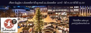 Julemarked på Youngstorget Oslo 2016