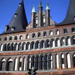 Lübeck, Schleswig-Holstein, Germany. Author and Copyright Liliana Ramerini