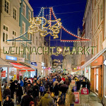 Christmas market in Rostock, Germany. Author and Copyright Grossmarkt Rostock GmbH-Th. Ulrich