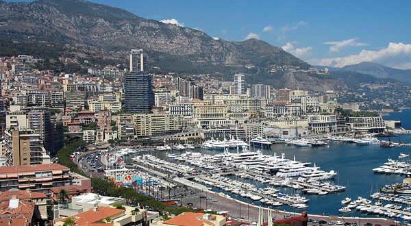 Monaco-Monte Carlo, Principality of Monaco. Author R Meehan. No Copyright