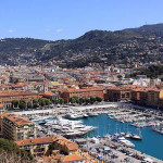 Nice, Côte d'Azur, France. Author Martinp1. Licensed under the Creative Commons Attribution-Share Alike