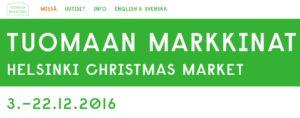 Tuomaan joulumarkkinat 2016