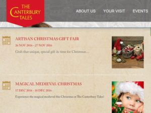 Artisan Christmas Gift Fair and Magical Medieval Christmas 2016