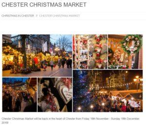 Chester Christmas Market 2016