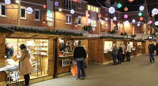 Christmas Market in Whitefriars, Canterbury