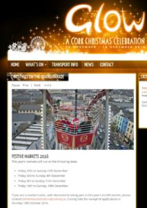 Cork Christmas Market 2016