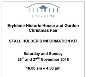 Eryldene's Christmas Fair 2016