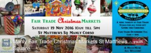 Manly Fair Trade Christmas Market 2016