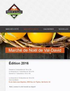 Marché de Noël de Val-David 2016