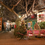 Longueuil Christmas Market, Quebec, Canada. Author and Copyright Gerard Leduc