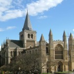 Rochester Cathedral, England, United Kingdom. Author ClemRutter. Licensed under the Creative Commons Attribution