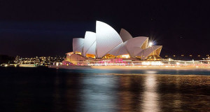 Sydney Opera House, Australia. Author Kazuhisa Togo. Licensed under the Creative Commons Attribution-Share Alike