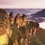 Three Sisters, Blue Mountains, Australia. Author JJ Harrison