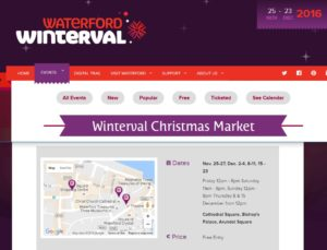 Waterford Winterval Christmas Market 2016