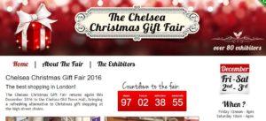 Chelsea Christmas Gift Fair 2016