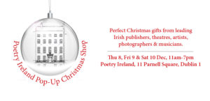 Poetry Ireland Pop-Up Christmas Shop 2016