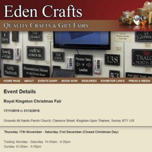 Royal Kingston Christmas Craft Fair 2016