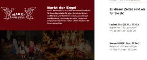 Weihnachtsmarkt auf dem Neumarkt - Markt der Engel