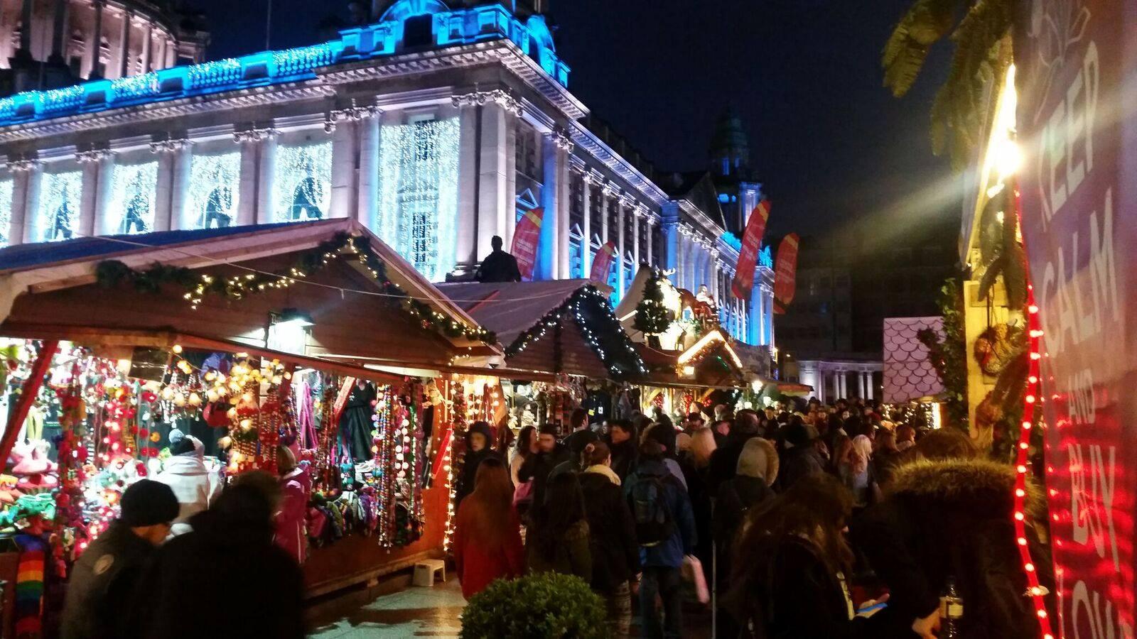 belfast christmas market pictures