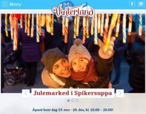 Jul i Vinterland - Julemarkedet i Spikersuppa 2016