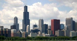 Chicago, Illinois, United States. Author J. Crocker. Licensed under Creative Commons Attribution