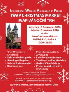 Christmas Market of the International Women's Association of Prague 2016