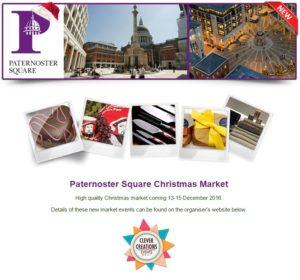 Paternoster Square Christmas Market 2016