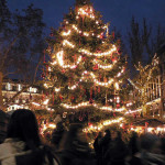 Budapest Christmas Market, Hungary. Author John. Licensed under the Creative Commons Attribution