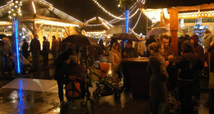 Christmas Market in Stuttgart, Baden-Wurttemberg, Germany. Author Francesco Crippa. Licensed under the Creative Commons Attribution