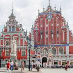 House of the Blackheads, Riga, Latvia. Author Wilson44691. No Copyright