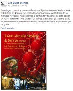 Mercado Navideño Sevilla Nervión 2016