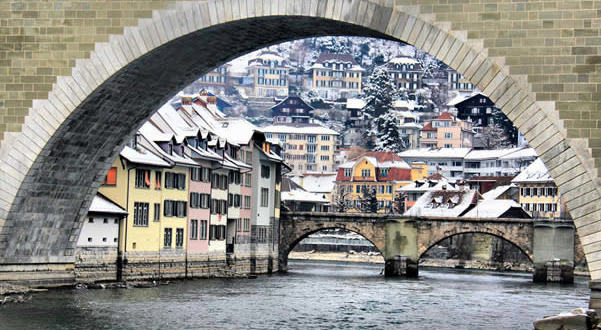 Bern, Switzerland. Author Christine Zenino. Licensed under Creative Commons Attribution