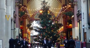 Leadenhall Market, London, United Kingdom. Author Herry Lawford. Licensed under the Creative Commons Attribution