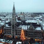 Munich Christmas Markets, Germany. Author X. No Copyright
