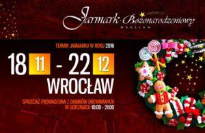 Jarmark Bożonarodzeniowy Wroclaw 2016