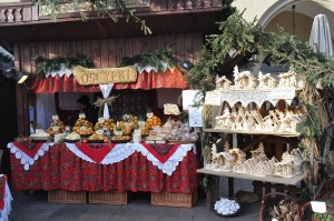 Christmas market in Krakow, Poland